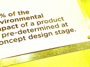 Wow-invironmental impact vs design
