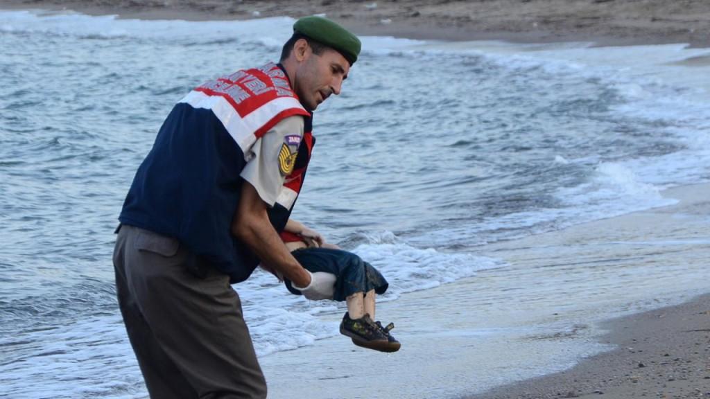 Dood kindje aangespoeld in Turkije