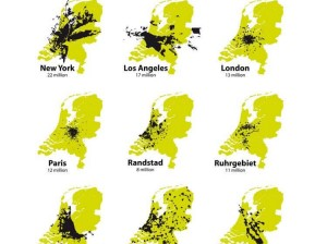 Holland is not a dense country, but an emty city