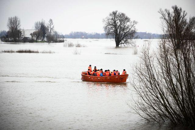 Hoog water - NRC